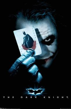 DC Comics Movie - The Dark Knight - The Joker with Batman Playing Card