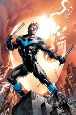 DC Comics - Nightwing - Fire