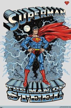 DC Comics Superman - The Man of Steel