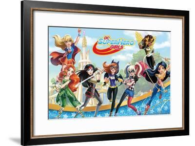 DC Comics TV - DC Superhero Girls - Girls--Framed Poster