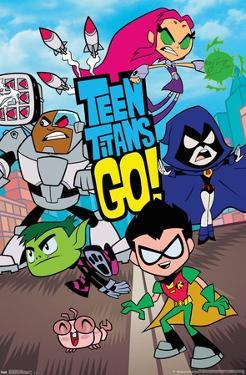 DC Comics TV - Teen Titans Go! - Group
