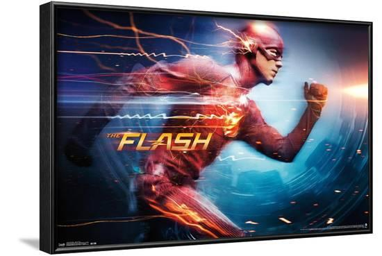 DC Comics TV - The Flash - Speed Force--Framed Poster