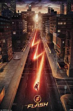DC Comics TV - The Flash - Street One Sheet