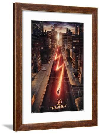 DC Comics TV - The Flash - Street One Sheet--Framed Poster