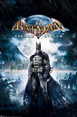 DC Comics VIdeo Game - Arkham Asylum - Key Art