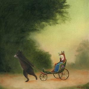 La Passeggiata of the Lady Dowager by DD McInnes