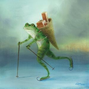 The Yuletide Frog by DD McInnes