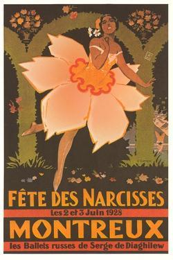 de Diaghilew Ballet Poster