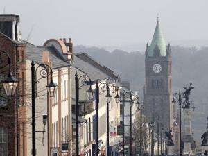 City of Derry, Ulster, Northern Ireland, United Kingdom, Europe by De Mann Jean-Pierre