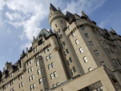Fairmont Chateau Laurier Hotel, Ottawa, Ontario Province, Canada
