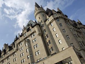 Fairmont Chateau Laurier Hotel, Ottawa, Ontario Province, Canada by De Mann Jean-Pierre