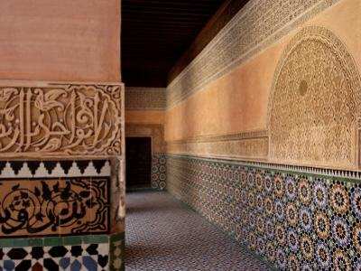 Medersa Ben Youssef, Medina, Marrakesh, Morroco