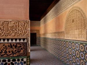 Medersa Ben Youssef, Medina, Marrakesh, Morroco by De Mann Jean-Pierre