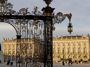 Place Stanislas, Dating from the 18th Century, Nancy, Meurthe Et Moselle, Lorraine, France by De Mann Jean-Pierre