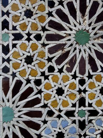Saadian Tombs, Dating Back to the Time of the Sultan Ahmed Al Mansour, Marrakesh, Morroco