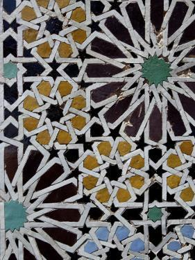 Saadian Tombs, Dating Back to the Time of the Sultan Ahmed Al Mansour, Marrakesh, Morroco by De Mann Jean-Pierre
