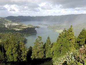 Sete Citades Lake, Sao Miguel Island, Azores, Portugal, Europe by De Mann Jean-Pierre