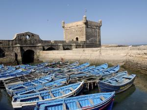 Skala of the Port, the Old Fishing Port, Essaouira, Historic City of Mogador, Morocco by De Mann Jean-Pierre