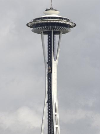 Space Needle, 520 Ft Tall, Seattle, Washington State, United States of America, North America