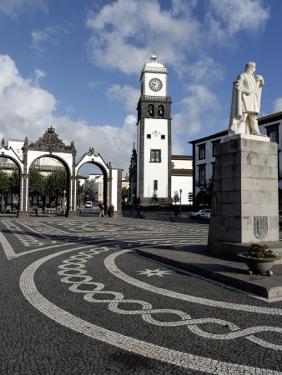 Three Arches, Ponta Delgada, Sao Miguel Island, Azores, Portugal by De Mann Jean-Pierre