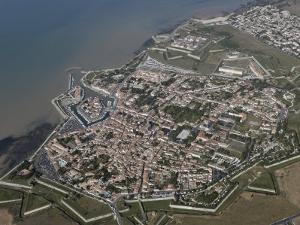 Vauban's Fortification, 17th Century, Saint Martin, Ile De Re, Charente Maritime, France by De Mann Jean-Pierre