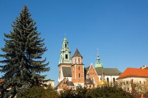Royal Palace in Wawel in Krakow. by De Visu