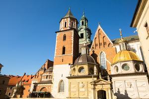 Royal Palace in Wawel, Krakow, Poland. by De Visu