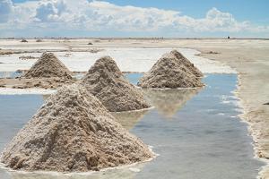 Salar De Uyuni Salt Flats in Bolivia. by De Visu