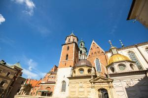 Territory of Royal Palace in Wawel in Krakow, Poland. by De Visu