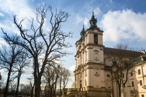 View of the Church of St. Stanislaus Bishop in Krakow. by De Visu