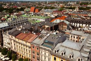 View of the Old Town of Cracow. Poland by De Visu