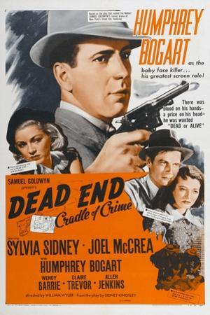"""Dead End: Cradle of Crime, 1937, """"Dead End"""" Directed by William Wyler"""