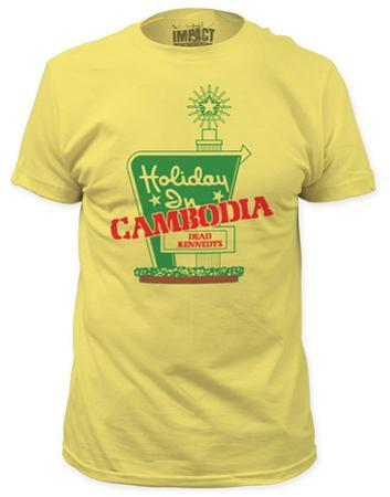 Dead Kennedys - Holiday in Cambodia (slim fit)