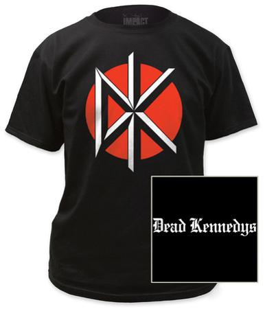 Dead Kennedys - Logo with Black Print