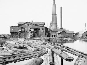 Dead River Saw Mill, Marquette, Mich.