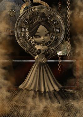 Steampunk Girl by deaddogdodge