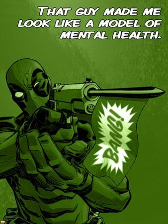 Deadpool - A Model of Mental Health Sign