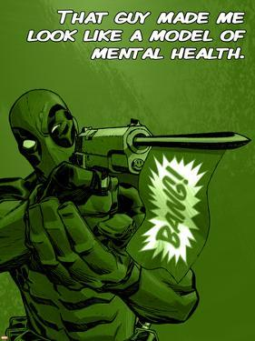 Deadpool - A Model of Mental Health