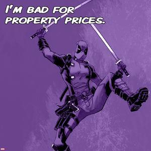 Deadpool - Bad for Property Prices Square