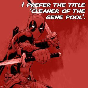 Deadpool - Cleaner of the Gene Pool Square