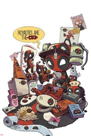 Deadpool Cover Art