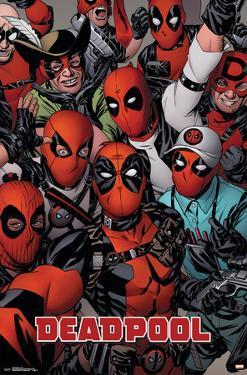 Deadpool - Faces