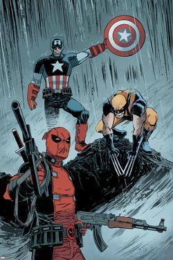 Deadpool No. 17: Deadpool, Captain America, Wolverine