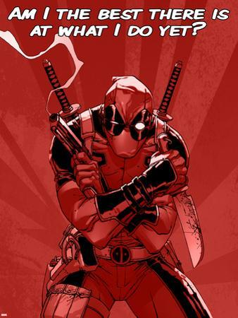 Deadpool - The Best There Is at What I Do Sign