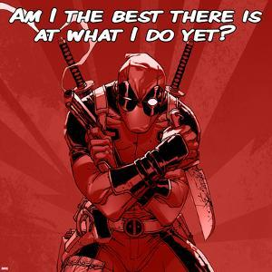 Deadpool - The Best There Is at What I Do Square