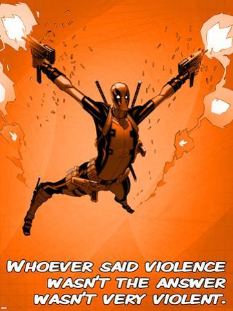 Deadpool - Violence Sign
