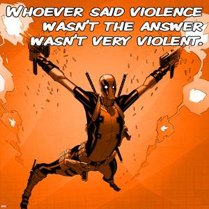 Deadpool - Violence Square