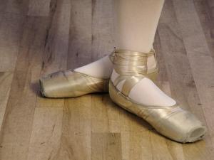 Ballerina's Feet by Dean Berry