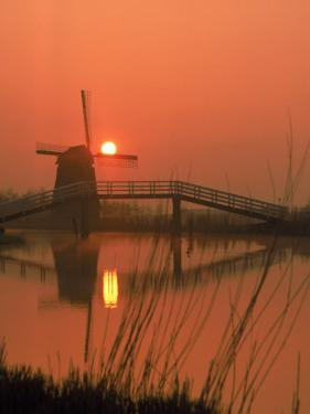 Holland Windmill by Dean Berry