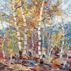 Birch Colors 1 by Dean Bradshaw